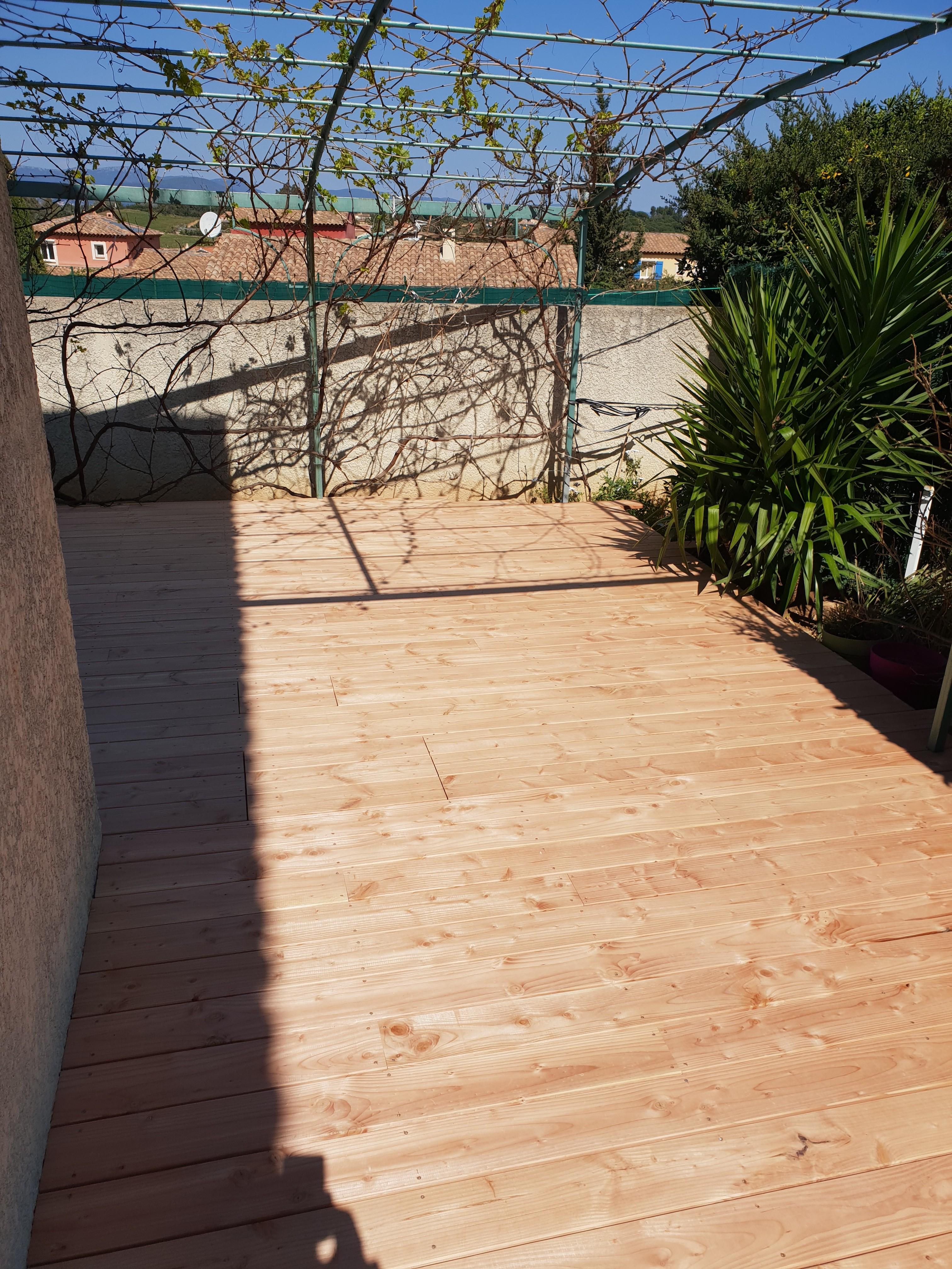 terrasse bois douglas Toulon
